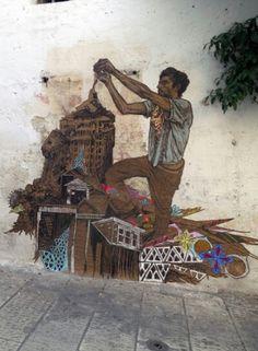 Swoon New Street Piece In Grottaglie, Italy