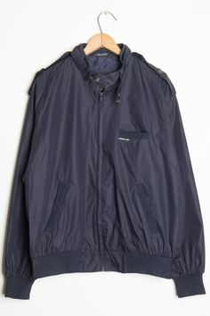 Navy Member's Only Jacket 1 - Ragstock