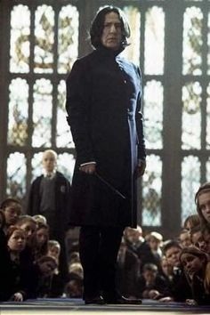 """Alan Rickman as Severus Snape in """"Harry Potter and the Chamber of Secrets"""" Rogue Harry Potter, Harry Potter Severus Snape, Harry Potter Love, Harry Potter Universal, Harry Potter Fandom, Harry Potter Characters, Harry Potter World, Albus Dumbledore, Severus Snape Always"""
