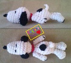 Snoopy deitado