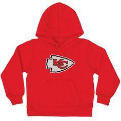 8d78b2899f0 Kansas City Chiefs Toddler Red Team Logo Fleece Pullover Hoodie