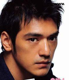 those Eyes tell it all 😯😊💪👍 Asian Men Hairstyle, Asian Hair, Low Maintenance Haircut, Takeshi Kaneshiro, Asian Actors, Asian Celebrities, Celebs, Hair Again, Perfect Lips