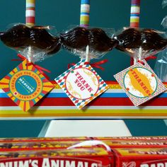 Hostess with the Mostess® - Vintage Carnival Circus Party