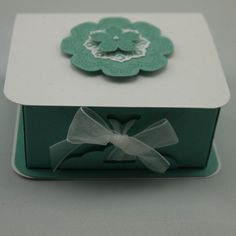 Box made using the Envelope Punch Board. Daydream Medallions. Stampin' Up!