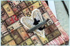 like the embellishment Tammy Tutterow | Eclectic Elements iPad Sleeve