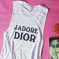 Jadore Dior Sex and the City Women's Muscle by TotallyGoodTime