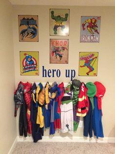 Organization and Storage Princess Hero Dress-Up by WriteAtHome