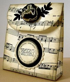 ON THE CARDS: Little gift bag tutorial.