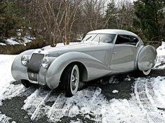 1937 Delage D8-120S Aero Coupe