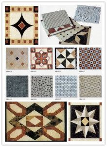 [Hot Item] Marble and Granite Mosaic Marble Mosaic, Marble Floor, Mosaic Glass, Tile Floor, White Counters, Granite Tile, Wooden Crates, Tiles, China