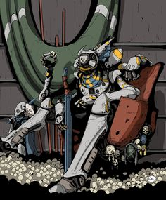 I am rather enjoying Destiny, despite it's shortcomings on release and questionable DLC policy. Alas, that seems to be the fate of all new games nowaday. Destiny Fallen, Love Destiny, Destiny Game, Tattoo Character, Game Character, Character Design, Destiny Cosplay, Destiny Comic, Destiny Bungie