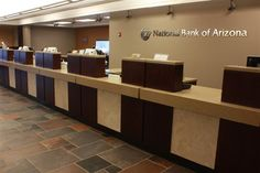bank teller stations - Google Search