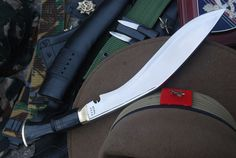 Gurkha Service No.1 Kukri - Authentic Khukuri Knives - British Gurka Issue Knife Note: This is perfect for what the Mora Bushcraft Black isn't up to.