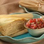Bolivian Quinoa Humintas (Tamales) - In South America, these tamales are traditionally eaten in the Andean countries where there is a concentrated Indian population. Each country has its own way of preparing and naming them. In Bolivia, they are called humintas and are either boiled or steamed in corn husks
