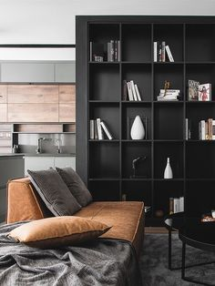 View the full picture gallery of A.C Apartment Architecture Board, Residential Architecture, Interior Architecture, Apartment Projects, Apartment Interior Design, Mocca, Minimalist, Shelves, Modern