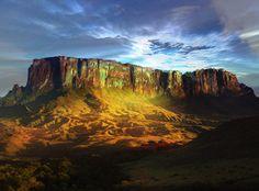 Monte Roraima, Estado de  Roraima, Brazil.