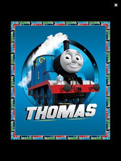 Thomas the Train Quilt by PrettyCraftybyLinda on Etsy