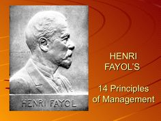 the life and works of henry fayol This article discusses the impact of henri fayol's life and career on  fayolism  has lived on through modern writings and can be seen today in three key areas:.