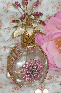 Antique perfume bottle by Debbie del Rosario