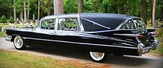 1959 Cadillac Crown Royale Landaulet Hearse by Superior