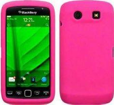 BlackBerry 9860 Torch 2 Silicone Skin Case - Hot Pink