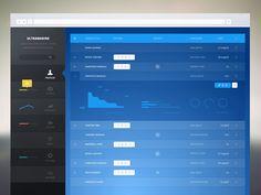 Ultramarine_admin beautiful admin design found on Dribbble.