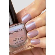 Supernova Iridescent Pink Nail Lacquer ($4) ❤ liked on Polyvore featuring beauty products, nail care, nail polish and nail