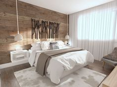✓ Models Comfortable Bedroom Decor Of 50 Rustic Bedroom Design, Rustic Master Bedroom, Home Bedroom, Bedroom Wall, Bedroom Decor, Bedroom With Wood Wall, Interior Design, House, Home Decor