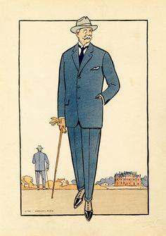 1920s Mens Fashion - Monocle
