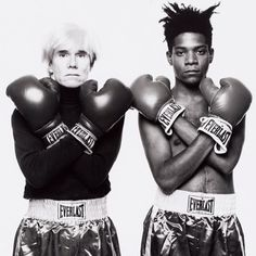 Do Boxing day in an iconic way #BORNSOLODIESOLO #BSDS #boxingday . . . . . . . . . . . . . . . #warhol #basquiat #boxing #everlast #iconic #artworld #andywarhol #jeanmichelbasquiat #artstars #BSDSviews