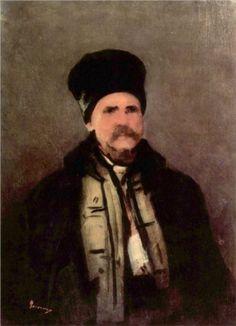 Gebirgsbewohner by Nicolae Grigorescu Dutch Golden Age, Famous Words, Art Database, High Art, Famous Artists, Landscape Art, Romania, New Art, Paintings