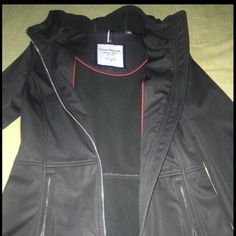 Women's Tommy Hilfiger Jacket (xs) Black Tommy Hilfiger jacket. Fits like a small and in flawless condition.40 dollar discount if you pay through ️️ Tommy Hilfiger Jackets & Coats Utility Jackets
