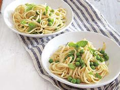 Summer Pea Pasta - lovely in winter to remind you of spring too