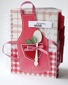How cute for the family cookbook!