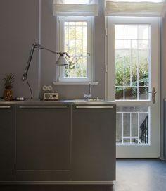Grey Kitchen via @Design*Sponge