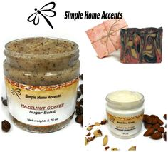 Handmade bath and body products, home decor, note cards and more.  www.simplehomeaccents.etsy.com