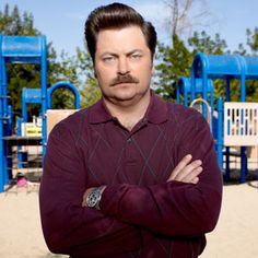 Ron Swanson...dry sense of humor is my weakness!