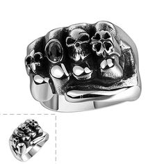 Woman Maya silver rings terror – Jason Christopher Store