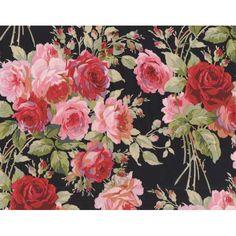 Anna Griffin Rose Garden Black