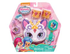 Shimmer and Shine Wish Come True Shine Purse Set, Bring a bit of sparkle wherever you go with the seven-piece Shimmer and Shine Wish Come True Nahal., By SHIMMER N SHINE Little Girl Toys, Baby Girl Toys, Toys For Girls, Gifts For Girls, Kids Toys, Baby Dolls, Shimmer Y Shine, Sparkle, Baby Doll Furniture