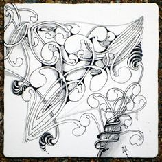 Mooka by Maria Thomas, Zentangle founder