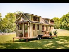 The Ultimate Tiny House on Wheels - YouTube