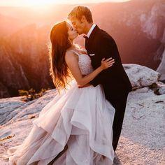 Yosemite Wedding intimate wedding in yosemite national park Wedding Portraits, Wedding Photos, Wedding Posing, Wedding Engagement, Engagement Photos, Yosemite Wedding, Braut Make-up, Adventure Photography, Princess Wedding Dresses