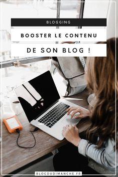 Booster son blog, grâce aux conseils du blog du dimanche !