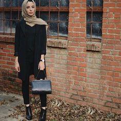 @nohasahnoune #hijabfashion