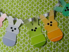 I know we have all seen these cute paint chip projects http://jennicanknit.blogspot.com/2012/02/paint-chip-bookmarks.html ... but I ...