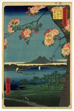 歌川広重 Hiroshige Utagawa 名所江戸百景