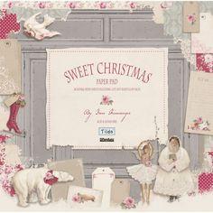 Sweet Christmas Design Book Paper Stack - Scrapbooking Papiere - Tilda Vintergleder Papercraft