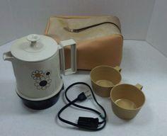 Vintage REGAL Insta Hot 5 Cup ELECTRIC AUTOMATIC COFFEE TEA PERCOLATOR