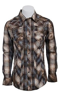 LOOOVE LOVE. ALL OF MY LOVE. Rock & Roll Cowboy Men's L/S Western Snap Shirt B2S6455 | Cavender's